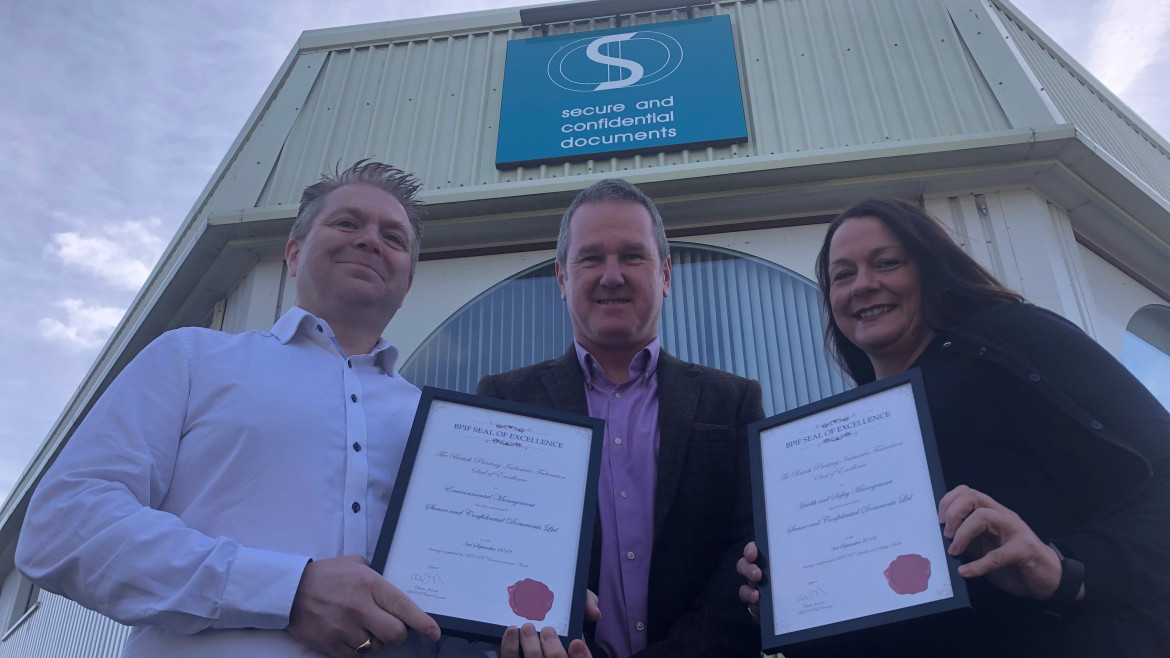 SCD receives BPIF Seal of Approval