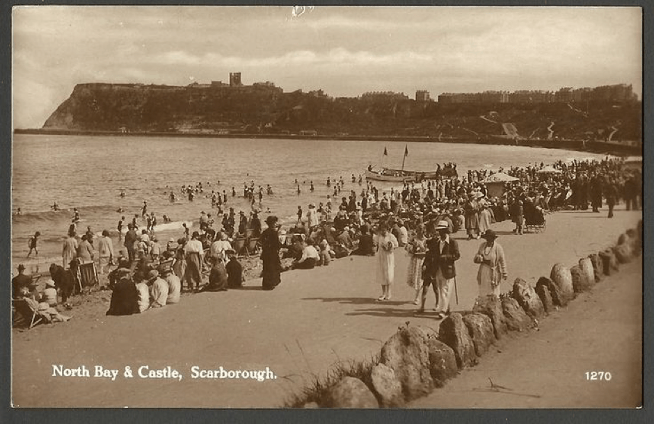 Victorian Postcard - Scarborough